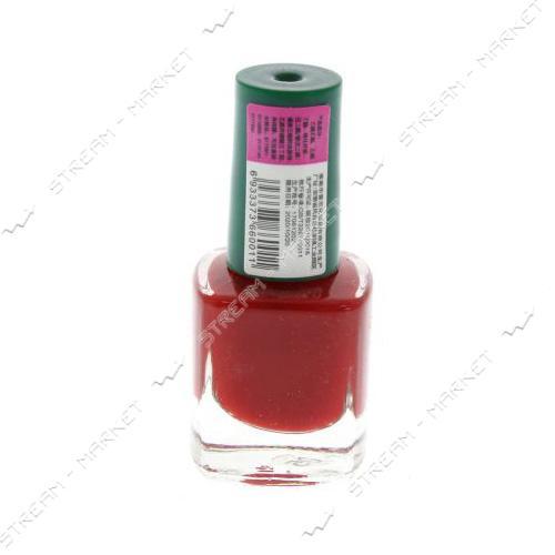 Краска для стемпинга Красная бутылочка с кистью 6 мл
