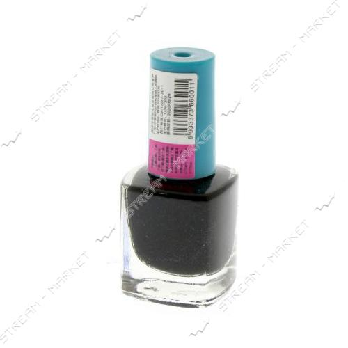Краска для стемпинга Черная бутылочка с кистью 6 мл