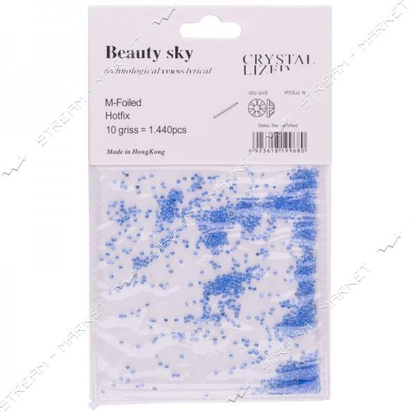 Кристаллы Pixie сине-голубые 1440 шт