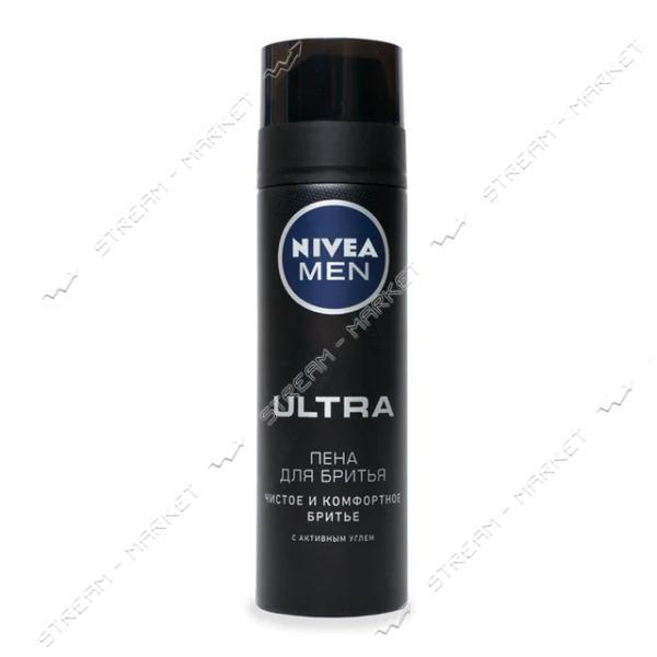 Пена для бритья Nivea Ultra 200мл