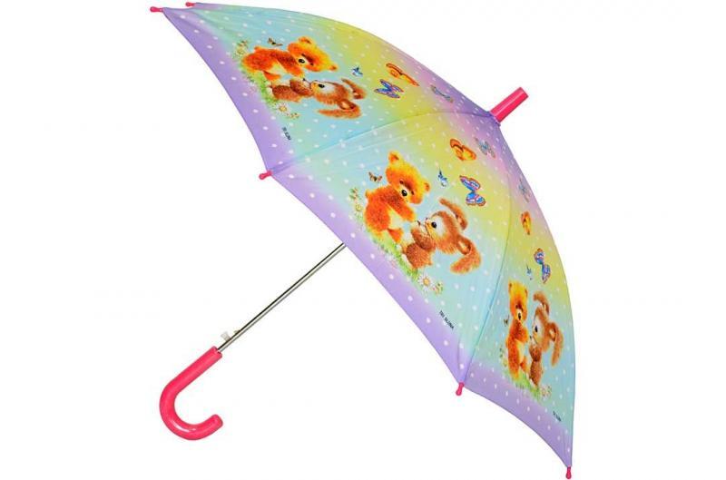 Детский зонт для девочки Три Слона ( полуавтомат ) арт. 47-01