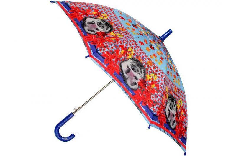 Детский зонт для девочки Три Слона ( полуавтомат ) арт. 47-03