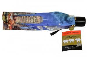 Фото  Женский зонт Ночной город Три Слона ( полный автомат ) арт. 145F-02