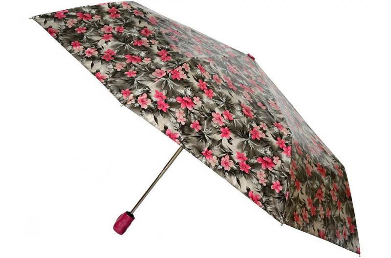 Женский зонт цветочный принт Sponsa ( полный автомат ) арт. 8139-01