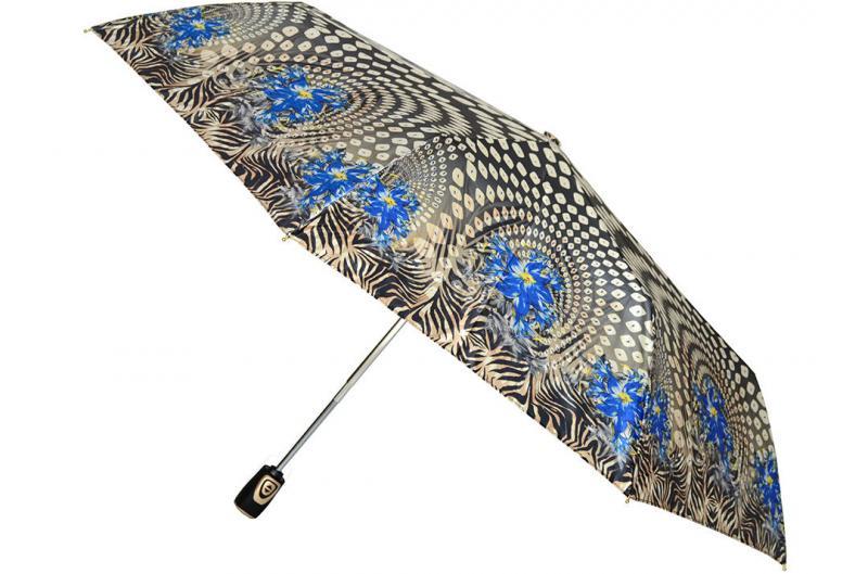 Женский зонт цветы Три Слона ( полный автомат ) арт. 140-03