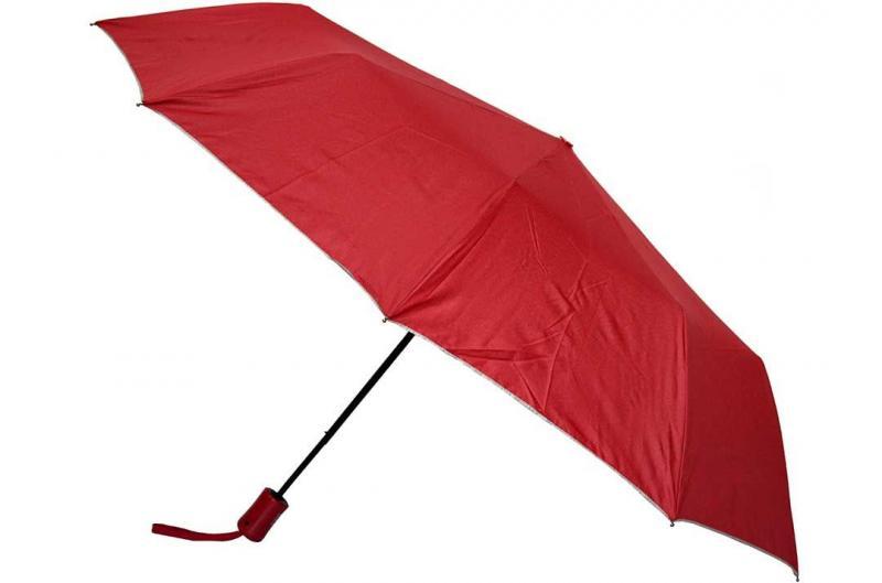 Женский красный зонт Max ( полуавтомат ) арт. 481-01