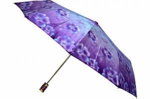 Фото  Женский фиолетовый зонт Max ( полуавтомат ) арт. 704-07