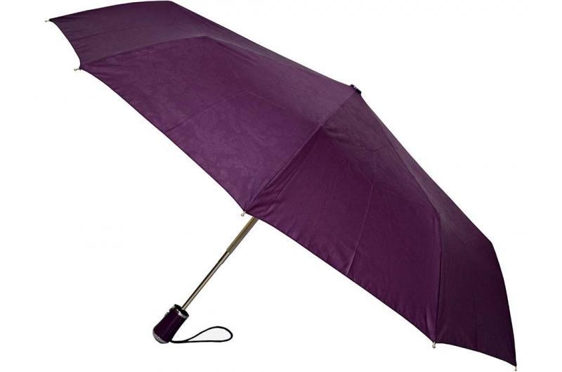Женский фиолетовый зонт Sponsa ( полный автомат ) арт. 17016-03