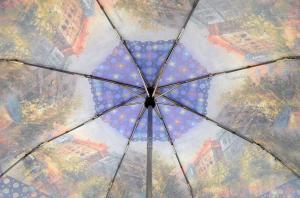 Фото  Модный женский зонт Три Слона ( полный автомат ) арт. 135J-03