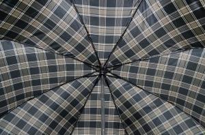 Фото  Мужской зонт в клетку Три Слона ( полный автомат ) арт. 730-08