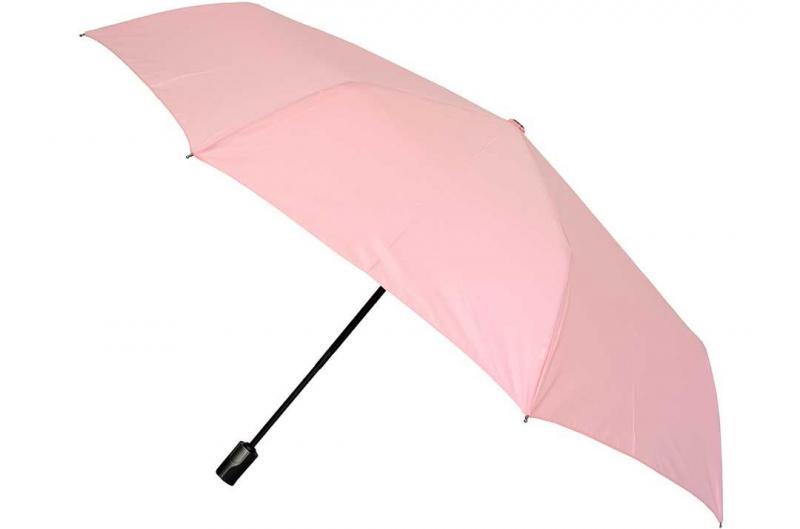 Розовый женский зонт Три Слона ( полный автомат ) арт. 365d-03
