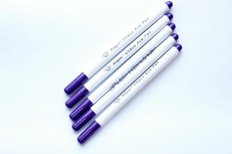 Набір зникаючих маркерів Pugovichok для фетру та тканини 6 шт. (SUN3937)