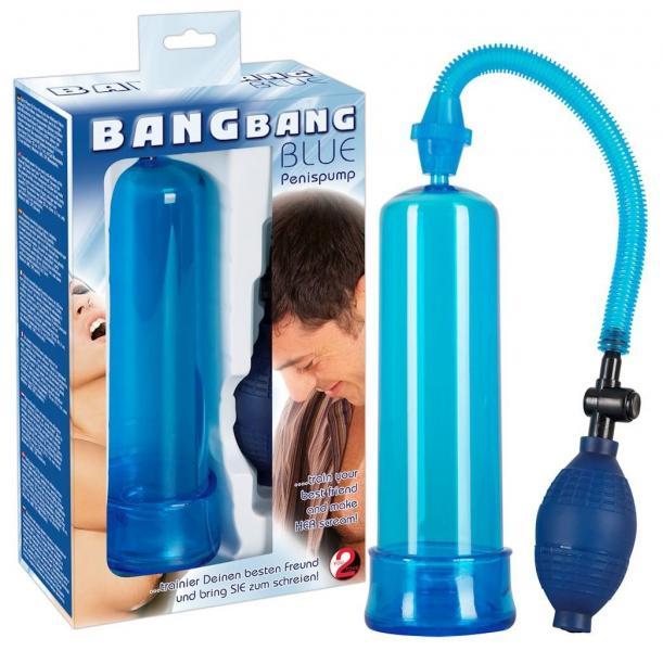 """Вакуумная помпа """" Bang Bang blue """" 519952"""