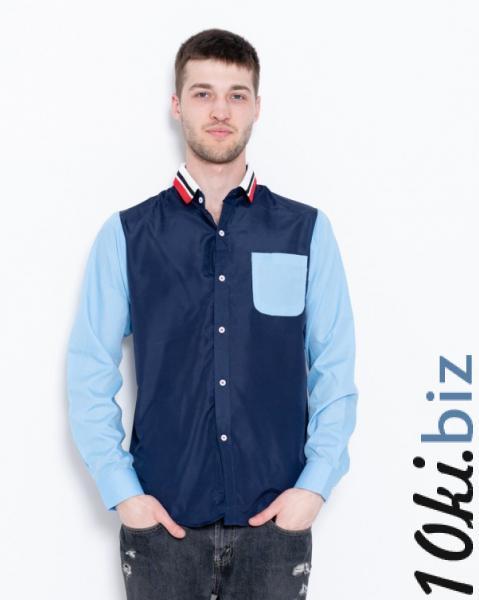 6df6322e04e5f7c Рубашки ISSA PLUS GN1-06 S темно-синий Мужские рубашки в Украине