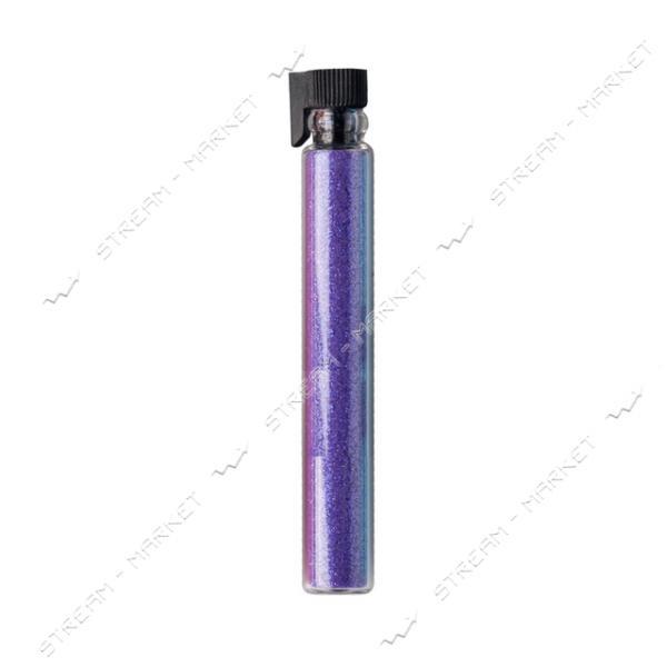 Глиттерный песок в колбе Фиолетовый