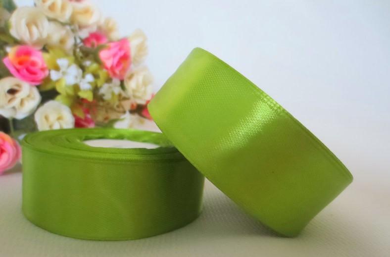 Фото Ленты, Лента атласная  однотонная 4 см Атласная лента   4 см , цвет оливковый