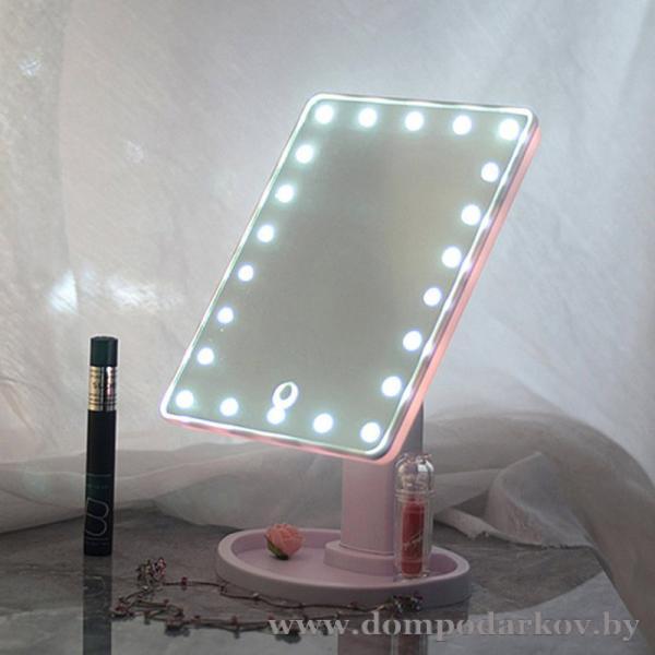 Фото ПОСМОТРЕТЬ ВЕСЬ КАТАЛОГ, Хиты продаж / Топ, Красота и здоровье Хит Зеркало с подсветкой для макияжа