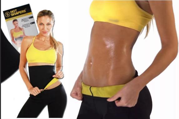 Эластичный пояс для похудения Hot Shapers