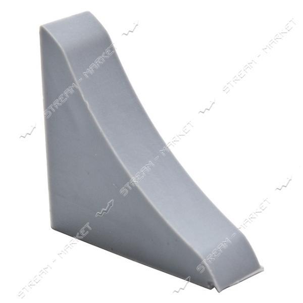 Заглушка для плинтуса универсальная металлик