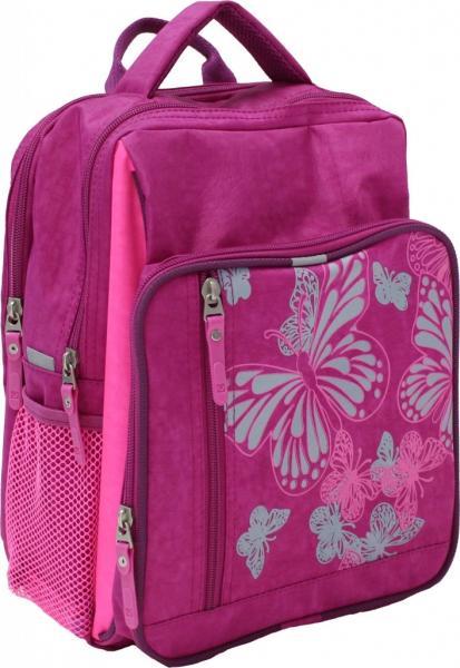 Украина Рюкзак школьный Bagland Школьник 8 л. Малиновый / розовый (00112702)