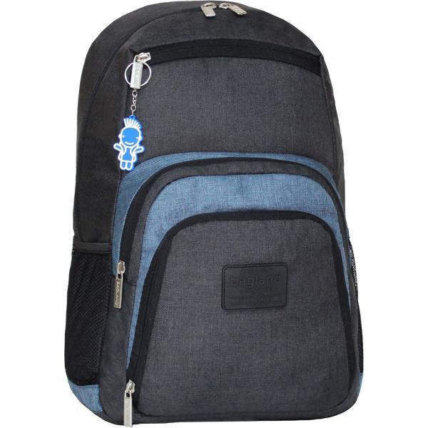 Украина Рюкзак для ноутбука Bagland Freestyle 21 л. черный/серый (0011969)