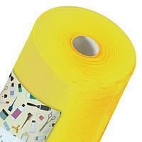 Простынь одноразовая Panni Mlada материала спанбонд 0,8м*100м., 20 г/м2 Желтый