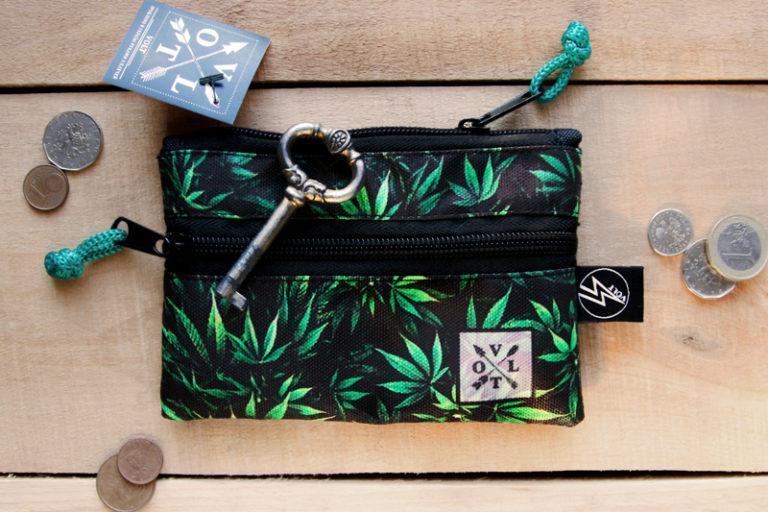 Ключница Volt Weed Photo, чехол для ключей