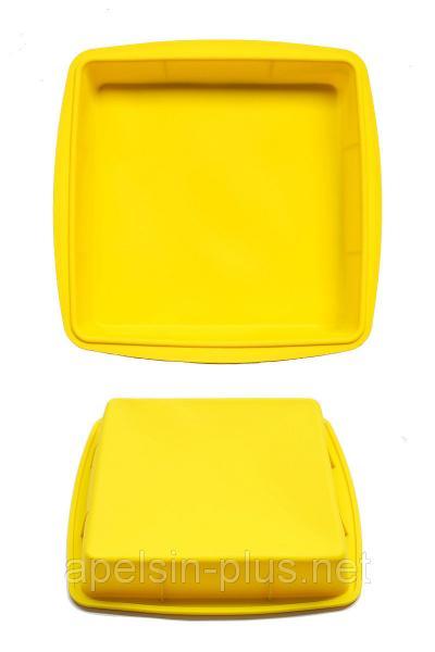 Силиконовая форма для выпечки Квадрат 287 см 27,5 см, глубина 4,2 см