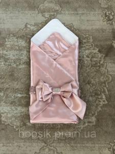 Конверт Ангел атлас (розовый)
