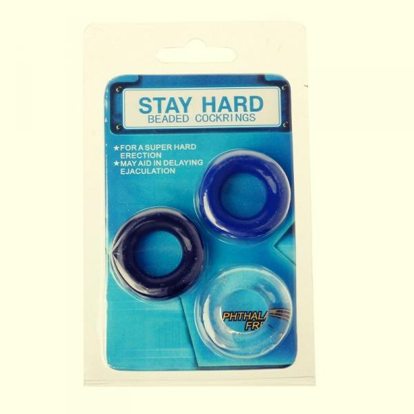 3 штуки Эрекционное кольцо удлиняет акт улучшает эрекцию Get Hard Rings