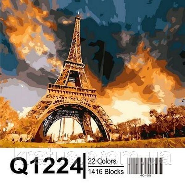 Фото Картины на холсте по номерам, Городской пейзаж Q1224