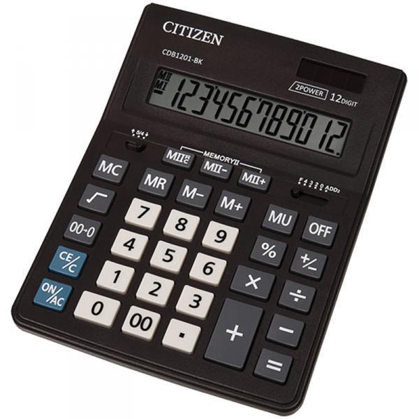 Фото Калькуляторы, носители информации (ЦЕНЫ БЕЗ НДС) Калькулятор настольный 12р. Citizen CDB-1201 (тип Sitizen 444)