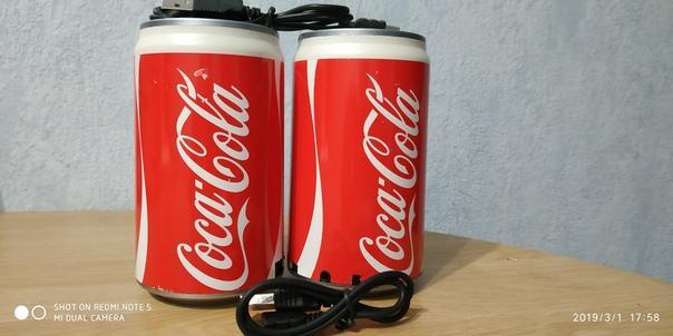 Портативная колонка - Coca Cola MP3