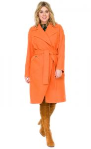 Фото  Пальто женское из вареной шерсти