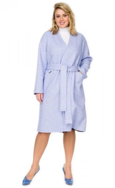 Пальто женское из вареной шерсти лоден.