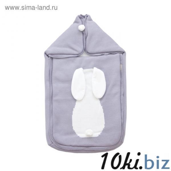 Конверт на выписку «Зайка», размер 40 × 70 см, сиреневый купить в Беларуси - Комплекты для выписки