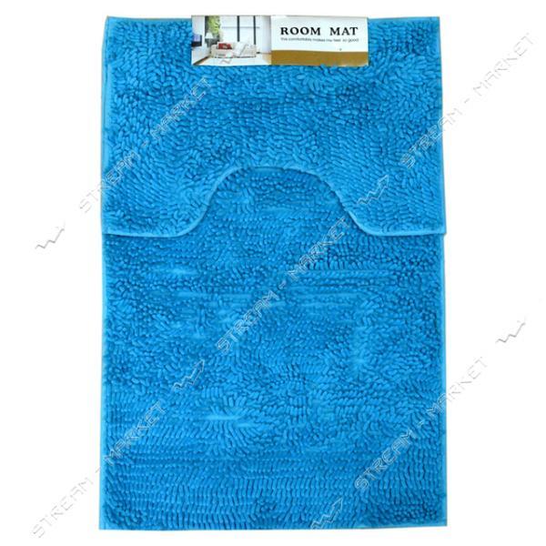 Набор коврик для ванны плюс под унитаз Червячки 60х90см