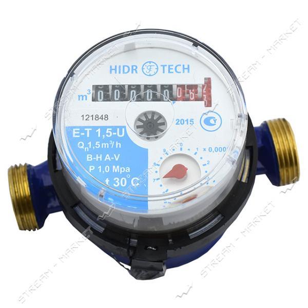 Счетчик для холодной воды 1/2' Гидротек E-T 1, 6-U