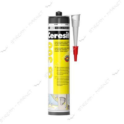 Клей-герметик акриловый Ceresit Flextec СВ300 прозрачный 300г