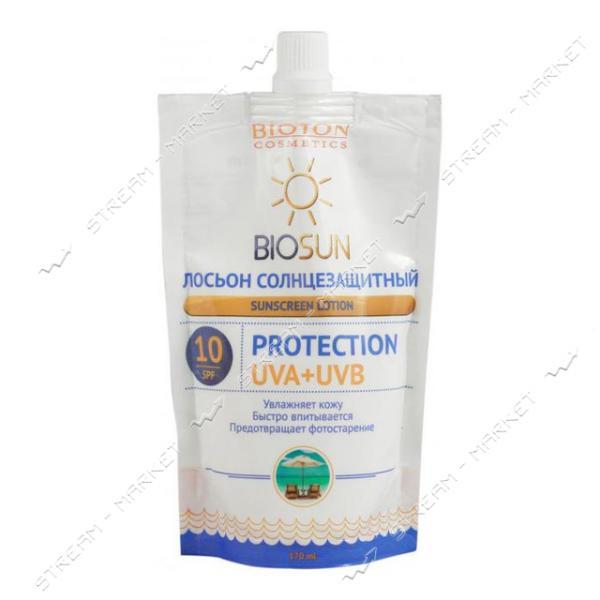 Лосьон солнцезащитный Bioton Cosmetics SPF 10 170 мл