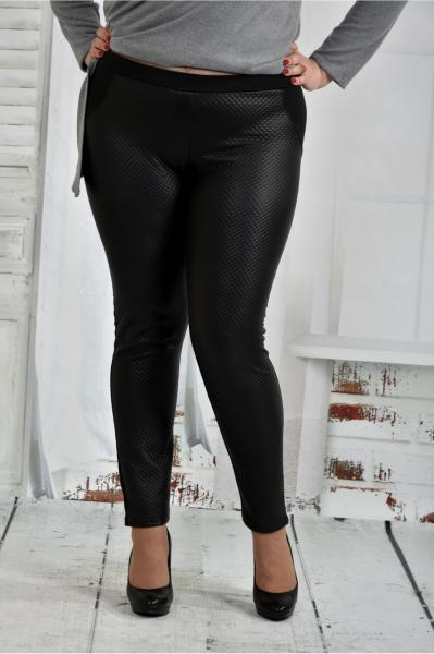 Женские лосины черные большие размеры 42-74