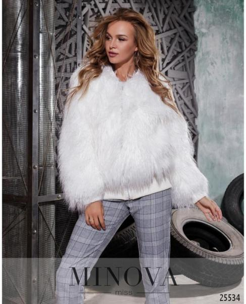 Женская шубка-куртка бомбер размеры: 42-44,46-48