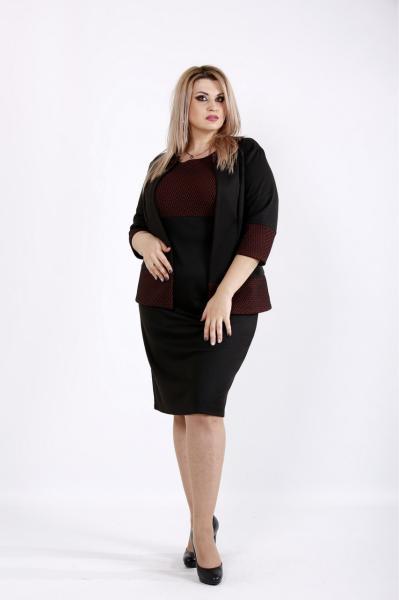 Новинка! женский деловой костюм супер батал большие размеры 42-74