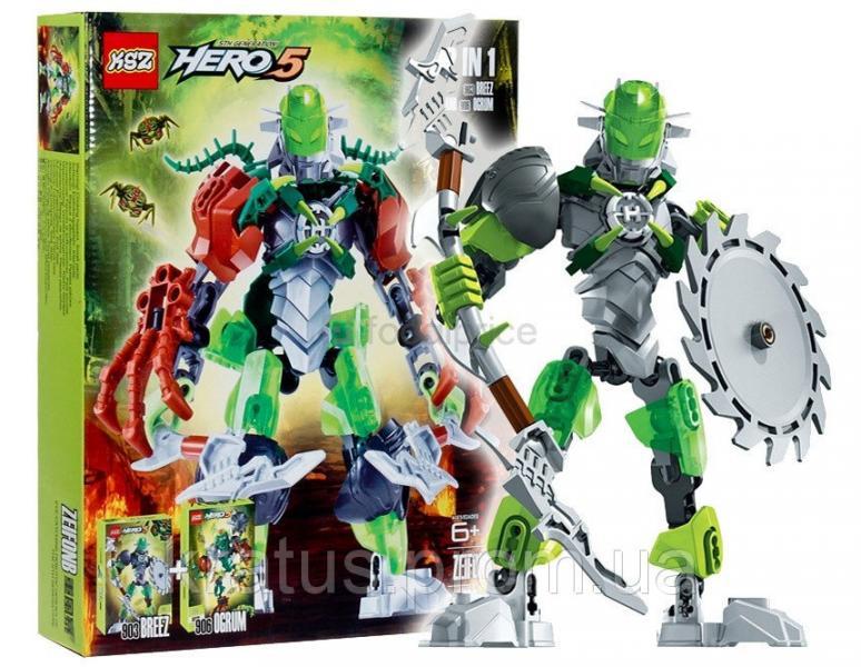 """910 """"Zeifonb"""" Hero 5.0  2в1 109 дет.  Breez+Ogrum"""