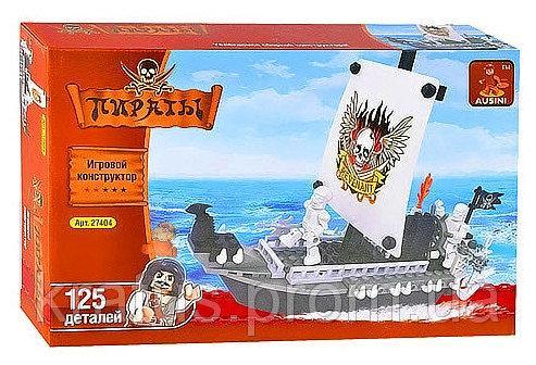 27404  «Пираты» Конструктор Ausini 125 дет.