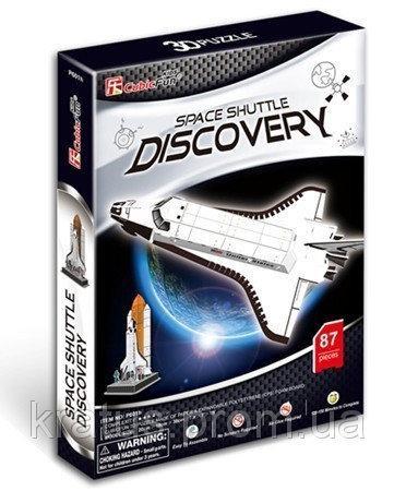 P 601h 3D пазл «Шаттл Discovery» 87 дет.