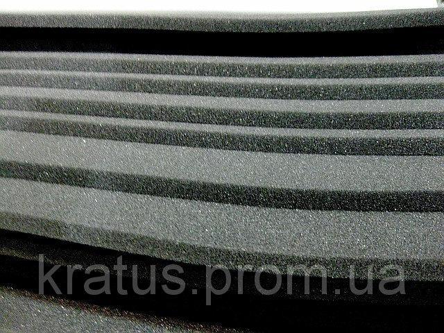 Фото Поролон, синтепон, синтепух (холлофайбер), Темно-серый поролон Поролон листовой темно-серый 1х2м  толщина 10мм