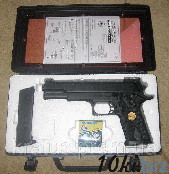 """Пистолет типа """"Кольт""""  P169а, цена фото купить в Киеве. Раздел Игрушечное оружие"""