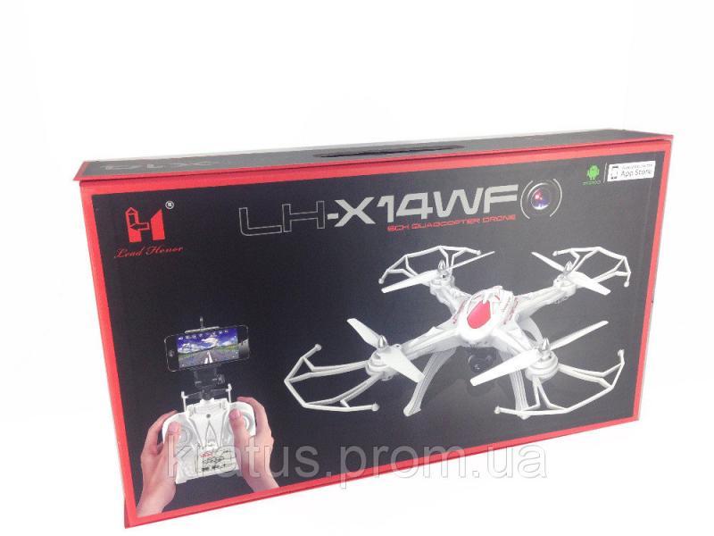 Фото Развивающие игрушки, Интерактивные и радиоуправляемые игрушки, Вертолеты, квадрокоптеры Квадрокоптер LH-X14DV