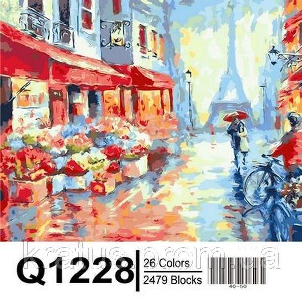 Фото Картины на холсте по номерам, Городской пейзаж Q1228
